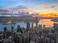 Hong Kong is impressive from many angles—beneath the towering skyscrapers, or from a ferry crossing Victoria Harbour—but you can see its finest side from the air. As your flight approaches the city, it feels like the mist parts and reveals Shangri-La, where hilly, verdant islands surround a concrete jungle. —Laura Dannen Redman