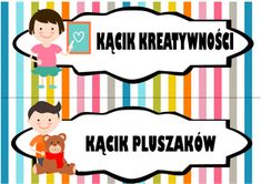 kącik kreatywności kącik pluszaków Diy And Crafts, Preschool, Family Guy, Clip Art, Education, Fictional Characters, Inspiration, Bullet Journal, Style
