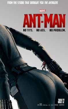 """FAN-ART: ANT-MAN Gets...""""Close"""" To BLACK WIDOW In Brilliant Parody Poster"""