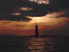 Lake St. Clair Channel Lights, Michigan