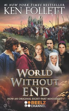 The Pillars of the Earth by Ken Follett, and the sequel — World Without End
