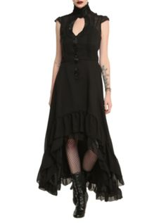 OMG I WANT THIS DRESS!! Must have it!!!  Jawbreaker Black Victorian Dress