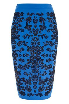 River Island Floral Beaded Pencil Skirt $56 - 10 Pencil Skirts You'll Want To Wear Outside The Office #refinery29