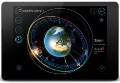 The world's first digital interactive astronomic time device in 3D. Including: world watch, digital orrery and astral chart – a new way of exploring time.