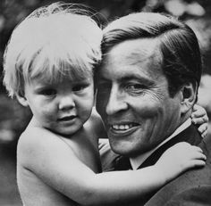 The Royal Watcher:  Prince Willem-Alexander with his father Prince Claus