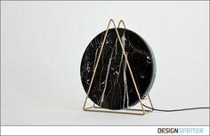 From Davide G Aquini (Italy): Novecento marble lamps by Davide G Aquini