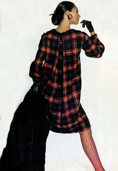 Marisa Berenson.  Vogue, 1966.