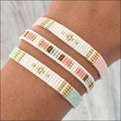 Tuto Bracelet Perle Miyuki Nouveau Pdf Beaded Bracelet Ekaterina Beading Pattern by Beadsmadness Loom Bracelet Patterns, Bead Loom Bracelets, Bead Loom Patterns, Jewelry Patterns, Beading Patterns, Beading Ideas, Beading Supplies, Silver Bracelets, Jewelry Bracelets