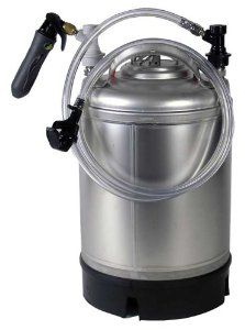 2.5 Gallon Mini Draft System (New Keg) by Midwest Homebrewing and Winemaking Supplies. $154.99. This system works by adding 3 oz. of corn sugar and waiting for the beer to naturally carbonate in the keg. After 2 - 3 weeks, the beer is dispensed using a compact CO2 Injector. This injector typically uses one 16 gm. CO2 cartridge to dispense the beer. CO2 is for dispensing only and will not force carbonate the beer in any way. 4 feet of low foam liquid line and a s...