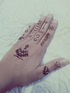 Henna design for beginners :)