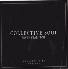 Collective Soul Band STICKER Album Cover Art DECAL 1990s Music New Greatest Hits