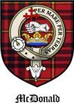 McDonald Clan Badge / Crest / Tartan