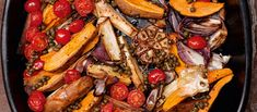 Das Rezept   Ofengemüse mit Kapernvinaigrette nach Yotam Ottolenghi