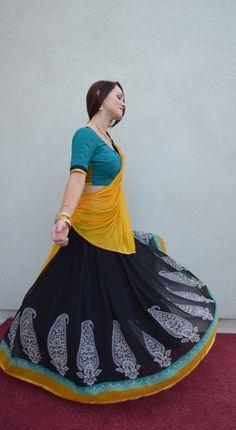 Radha Govindha south-indian-cotton-lehengas