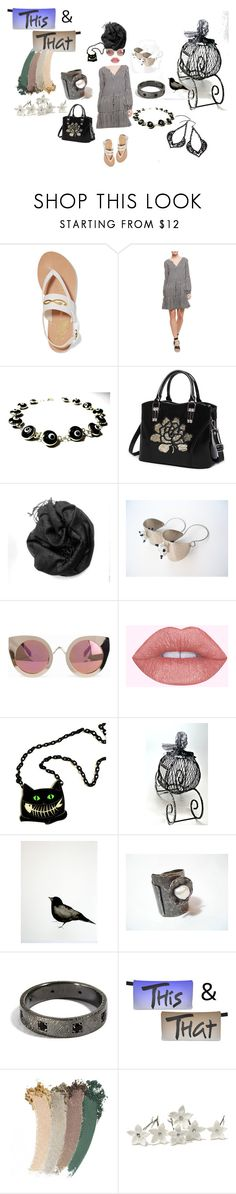 This & that by planitisgi on Polyvore featuring Sanctuary, Ancient Greek Sandals, Quay and Gucci