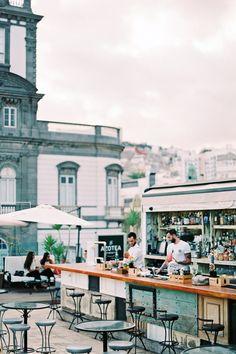 La Azotea de Benito bar in Las Palmas