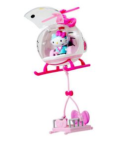 Love this Hello Kitty Emergency Helicopter by Hello Kitty on #zulily! #zulilyfinds
