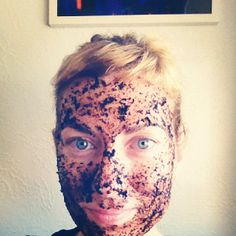 DIY exfoliator Making Use of The Old... Coffee Grounds!!!
