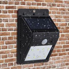 LED Solar Wände Lampe, Marsboy 8 LED Solarleuchten Bewegungsmelder Motion Sensor wasserdichte Außenleuchte.: Amazon.de: Garten