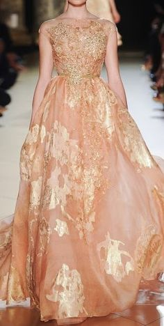 Elie Saab - beautiful but I have absolutely no place to wear it... ;-}