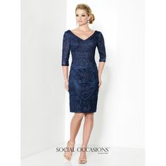 Social Occasions by Mon Cheri Mother of the Bride Dress 215818