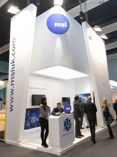 Stand Mobile World Congress Contemporanea Eventi 6 metros