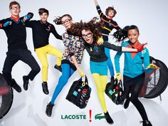 You are interested in Lacoste - Ad Campaign? Fashion ads, pictures, prints and advertising of Lacoste - Ad Campaign can be found here. Fashion Poses, Fashion Shoot, Sport Fashion, Editorial Fashion, Motion Photography, Editorial Photography, Lacoste, Foto Sport, Six Models