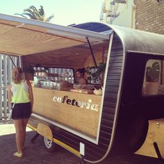 'cafeteria' - the coolest retro food van I've seen