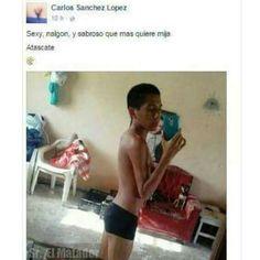 Cuando te convertís en el símbolo sexual de todas las nenas. ##MiércolesGabán #SrElMatador http://www.srelmatador.com #Foto