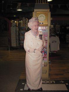 A la rencontre de la reine