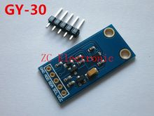 Free shipping GY-30 The digital optical intensity illumination sensor BH1750FVI of module for arduino(China (Mainland))