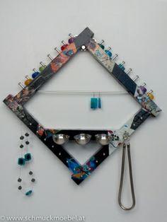 www.farbeninsleben.at Schmuckaufbewahrung Kandinsky Shops, Kandinsky, Jewelry Holder, Clothes Hanger, Personalized Items, Coat Hanger, Tents, Hangers, Hangers For Clothes