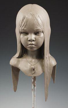 Art | アート | искусство | Arte | Kunst | Sculpture | 彫刻 | Skulptur | скульптура | Scultura | Escultura | Little Girl by MarkNewman