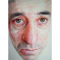 Artist / Sue Rubira. #drawinganatomyandart, #watercolor #color #art #artist #artists #face #portrait #painting #paintings #paint #illustration