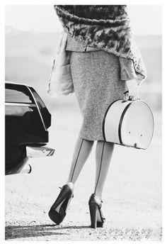 #1950s #glamour #fashion