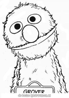 Sesame Street Coloring Pages | Coloring Pages