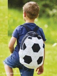 Crochet kid's backpack pattern free