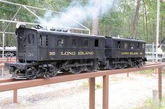 Long Island Railroad Electric Locomotive.