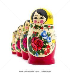Matrioshka Russian nesting Dolls