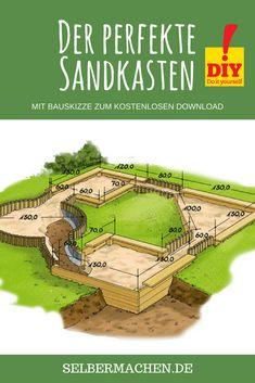 So bauen Sie den perfekten Sandkasten!