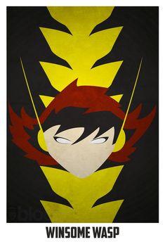 I NEED this poster! I <3 The Wasp! - #antman #kurttasche #marvelmovies