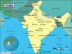 8/15: Day India was partitioned into India and Pakistan,  | Map Of India And Pakistan - reviews and photos.