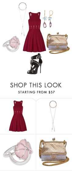 """Happy Easter"" by popey3 ❤ liked on Polyvore featuring Giuseppe Zanotti, Cushnie Et Ochs, Wanderlust + Co and Judith Leiber"
