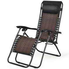 In Folding Lounge Chair, Patio Lounge Chairs, Cool Chairs, Outdoor Lounge, Outdoor Chairs, Patio Glider, Glider Chair, Reclining Rocking Chair, Sand And Water Table