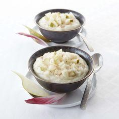 Découvrez les recettes Cooking Chef et partagez vos astuces et idées avec le Club pour profiter de vos avantages. http://www.cooking-chef.fr/espace-recettes/legumes-et-accompagnements/puree-de-chou-fleur-a-la-poire