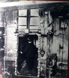 One of Titanic's watertight doors.