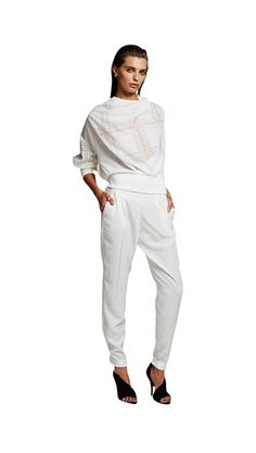012a21bccba The essential white pant. Smith   Caughey s