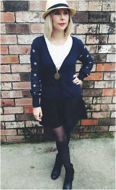 Navy and black.