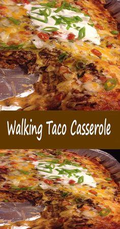 Taco Casserole, Pierogi Casserole, Easy Casserole Recipes, Casserole Dishes, Mexican Menu, Mexican Dishes, Mexican Food Recipes, Beef Recipes, Recipies