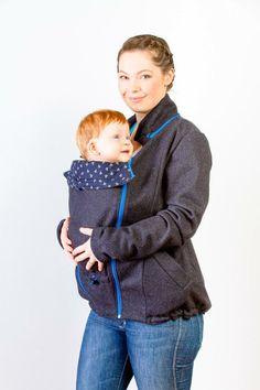 MarkoMiles 100% Wool Babywearing and Maternity Coat